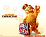 Obrázek - Garfield a královská koruna
