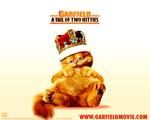 Obrázek - Přejedený Garfield