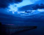 Obrázek - Východ slunce po bouři