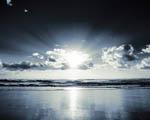 Obrázek - Stříbrný východ slunce