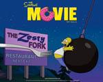 Obrázek - Homer Simpson a billboard