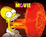 Obrázek - Homer Simpson a ohnivý dech