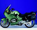 Obrázek - Zelená BMW motorka