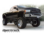 Obrázek - Černý Dodge Ram 1500