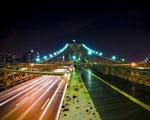 Obrázek - Noční barvy dálnice