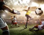 Obrázek - Digitální fotbalový zápas