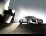 Obrázek - Audi R8 boční pohled