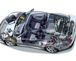 Obrázek - Porsche průřez