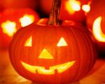 Obrázek - Halloweenská dýně v detailu