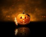 Obrázek - Krásná halloweenská abstrakce