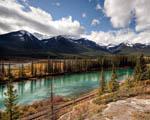 Obrázek - Národní park v Kanadě spolu s pacifickou železnicí