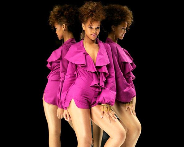 Obrázek na plochu v rozlišení 1280 x 1024 - Rihanna mladá a krásná zpěvačka