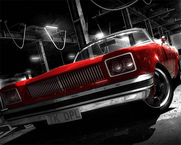 Obrázek na plochu v rozlišení 1280 x 1024 - Red Devil