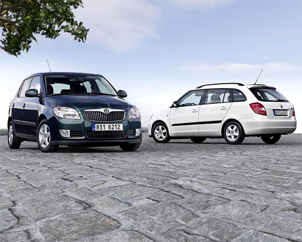 Obrázek na plochu v rozlišení 1280 x 1024 - Škoda Fabia Greenline ver2