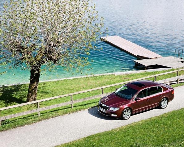 Volba: tapeta v rozlišení 1280 x 1024 - Škoda Superb ver2