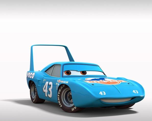 Obrázek na plochu v rozlišení 1280 x 1024 - Dinoco závodník z příběhu Auta