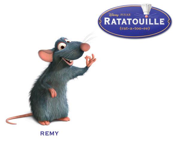 Obrázek na plochu v rozlišení 1280 x 1024 - Myšák Remy z pohádkového příběhu Ratatouille