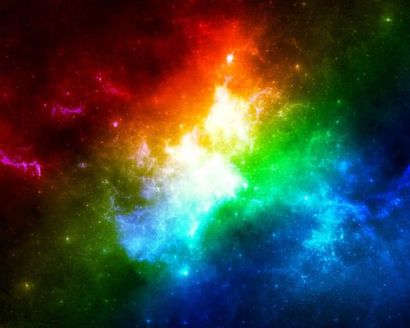 Obr�zek na plochu v rozli�en� 1280 x 1024 - Pestrobarevnost vesm�ru
