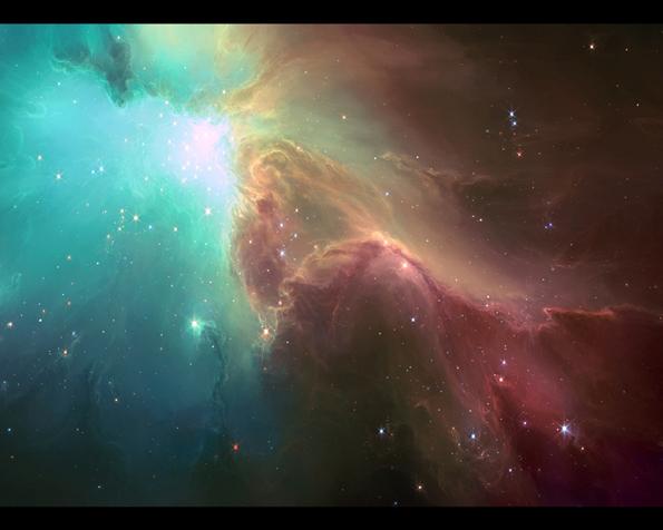 Obrázek na plochu v rozlišení 1280 x 1024 - Nebulae v plné své kráse