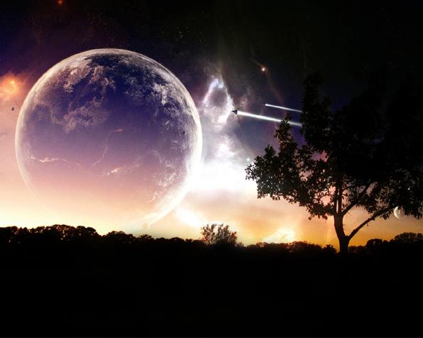 Obrázek na plochu v rozlišení 1280 x 1024 - Objevování našeho vesmíru