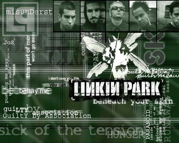 Volba: tapeta v rozlišení 1280 x 1024 - Linkin park Beneath your skin