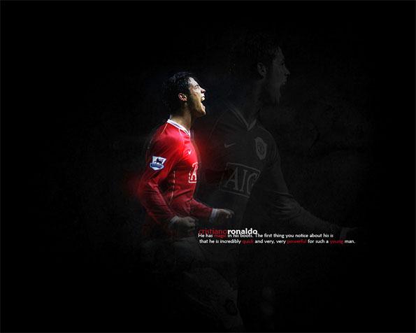 Obrázek na plochu v rozlišení 1280 x 1024 - Jeden z nejlepších fotbalistů na světě Cristiano Ronaldo