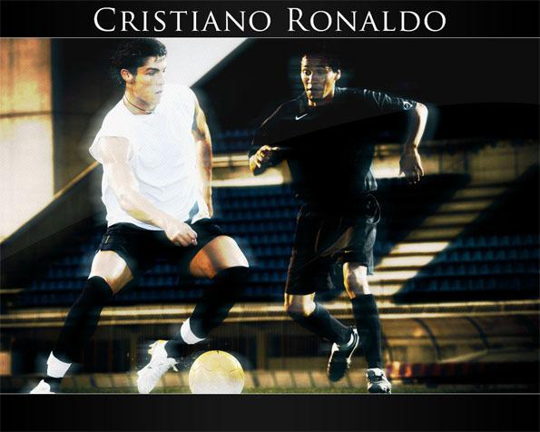 Volba: tapeta v rozlišení 1280 x 1024 - Neporazitelný Cristiano Ronaldo