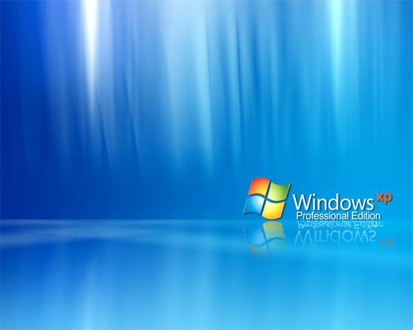 Volba: tapeta v rozlišení 1280 x 1024 - Logo Windows XP