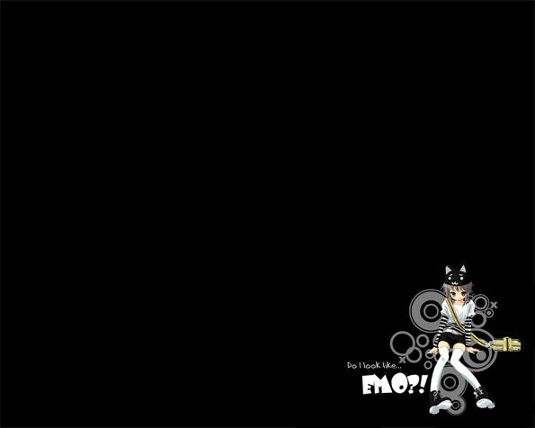 Obrázek na plochu v rozlišení 1280 x 1024 - Vypadám jako EMO