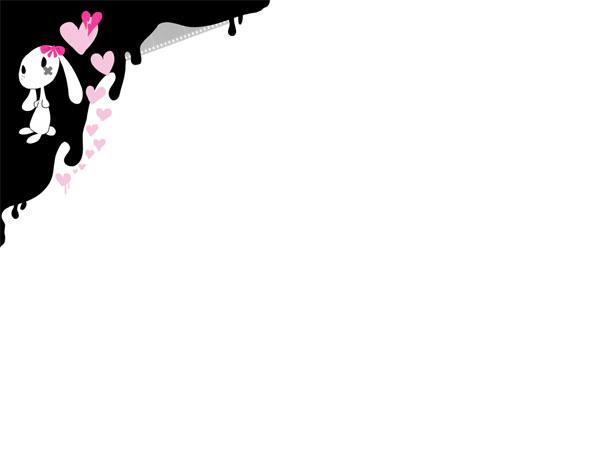 Obrázek na plochu v rozlišení 1280 x 1024 - Králíček EMO