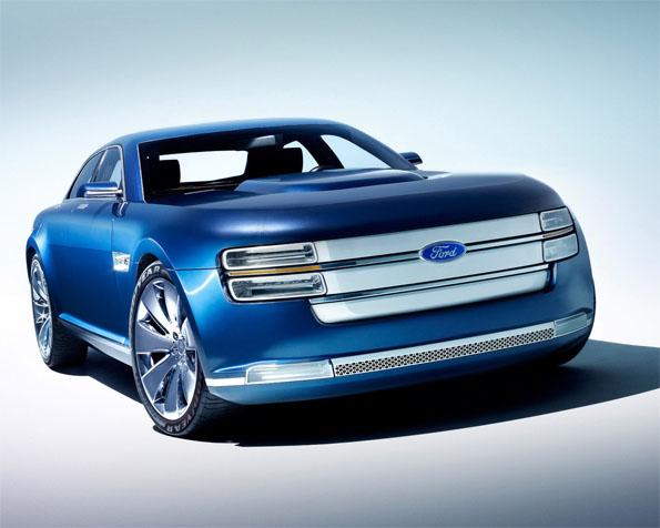 Volba: tapeta v rozlišení 1280 x 1024 - Ford koncept