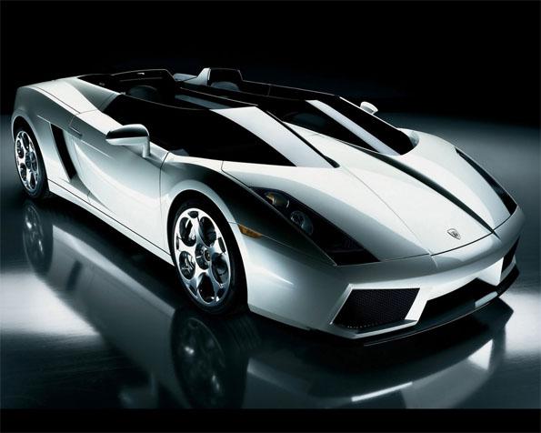 Volba: tapeta v rozlišení 1280 x 1024 - Lamborghini koncept S boční pohled