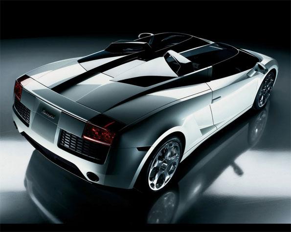 Volba: tapeta v rozlišení 1280 x 1024 - Lamborghini koncept S zadní pohled