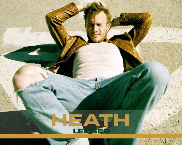 Volba: tapeta v rozlišení 1280 x 1024 - Heath Ledger ležící na silnici