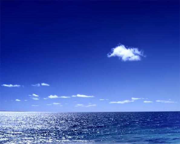 Volba: tapeta v rozlišení 1280 x 1024 - Krásný den na moři