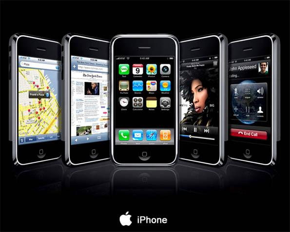 Volba: tapeta v rozlišení 1280 x 1024 - Nový telefon iPhone