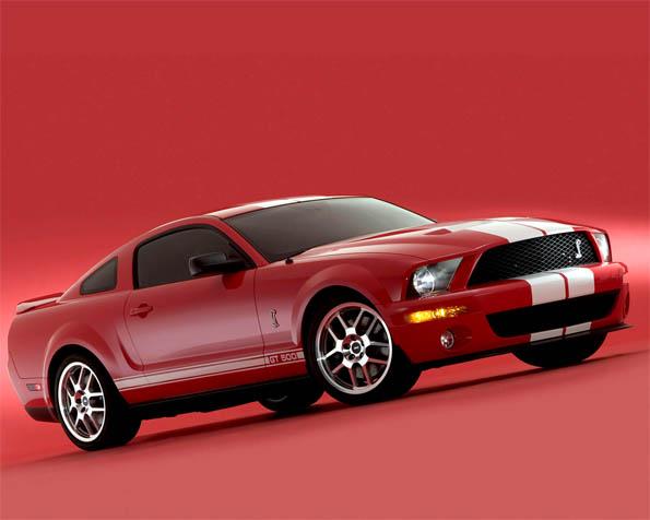 Volba: tapeta v rozlišení 1280 x 1024 - Ford GT 500 Cobra