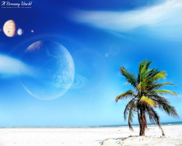 Volba tapeta v rozlišení 1280 x 1024 pláž podle vašich