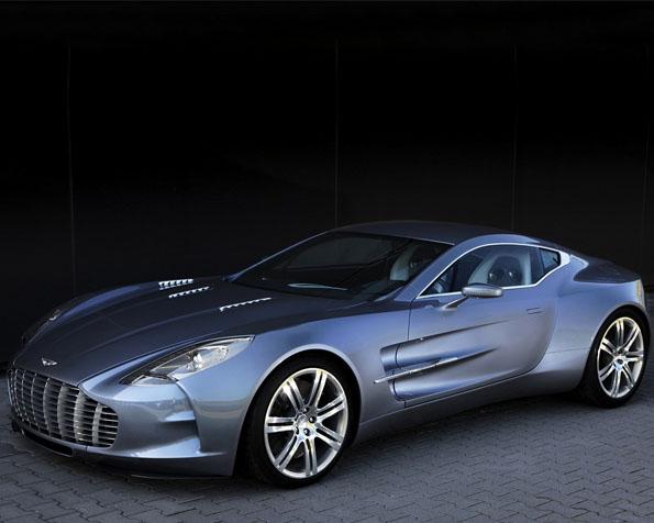 Obrázek na plochu v rozlišení 1280 x 1024 - Aston Martin One 77