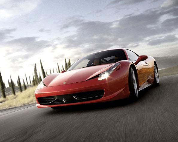 Obrázek na plochu v rozlišení 1280 x 1024 - Ferrari 458 Italia