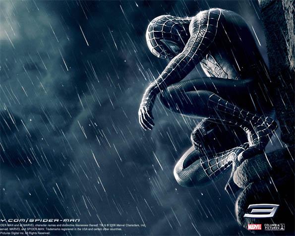 Volba: tapeta v rozlišení 1280 x 1024 - Zamyšlený spiderman