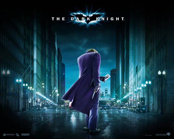 Obrázek na plochu v rozlišení 1280 x 1024 - Joker kráčející po ulici