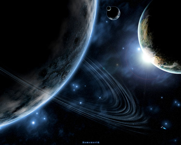 Obrázek na plochu v rozlišení 1280 x 1024 - Nové kolonie lidské rasy