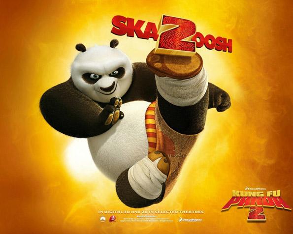 Obrázek na plochu v rozlišení 1280 x 1024 - Skvělý Kungfu Panda