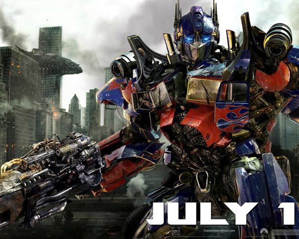 Obrázek na plochu v rozlišení 1280 x 1024 - Transformers 3 Optimus Prime