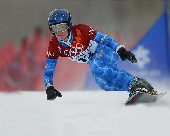 Obrázek na plochu v rozlišení 1280 x 1024 - Snowboarding na olympijských hrách