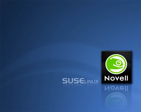 Obrázek na plochu v rozlišení 1280 x 1024 - Suse Linux Novell