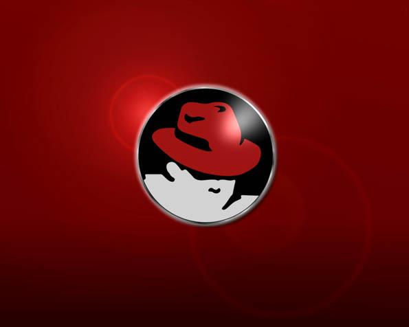 Obrázek na plochu v rozlišení 1280 x 1024 - Red Hat logo