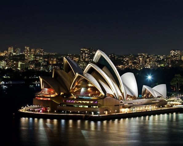 Obrázek na plochu v rozlišení 1280 x 1024 - Nejznámější ikona města Sydney