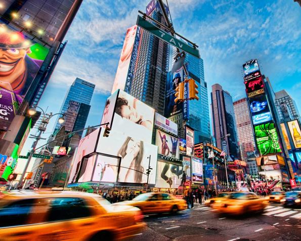 Obrázek na plochu v rozlišení 1280 x 1024 - Last minute zájezd na Times Square
